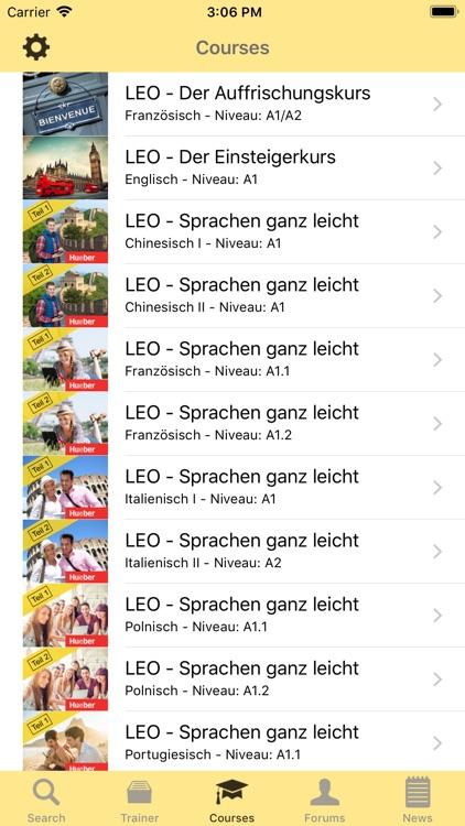 LEO dictionary screenshot-3