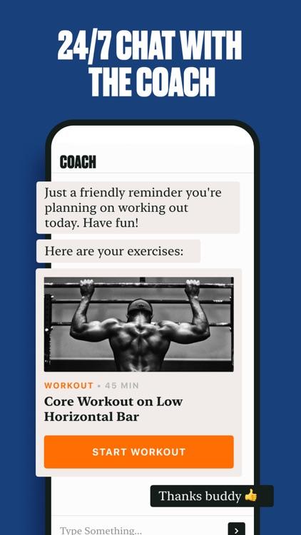 The Coach: Men's Health App screenshot-3