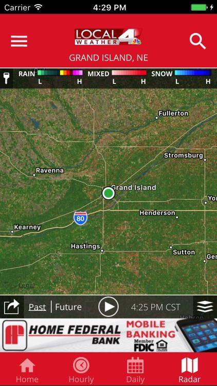 KSNB Local4 Weather screenshot-4