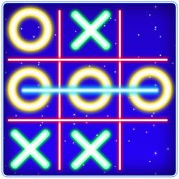 Tic Tac Toe Glow Puzzle Game
