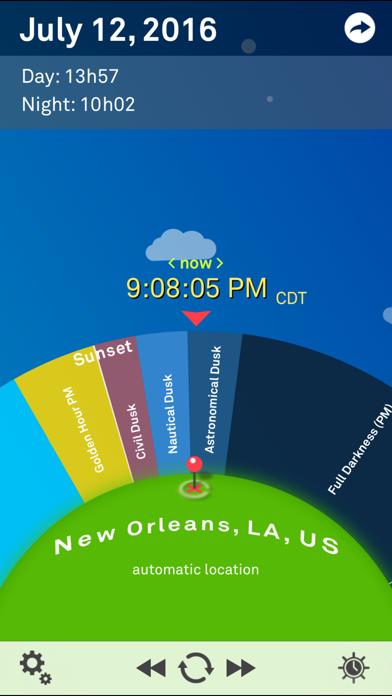 Sol: Sun Clock Screenshot