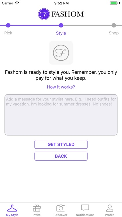 Fashom - Personal Styling App screenshot-6