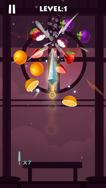 Knife Rush Fruit ! screenshot-0