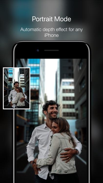 Phocus: Portrait Mode Camera screenshot-0