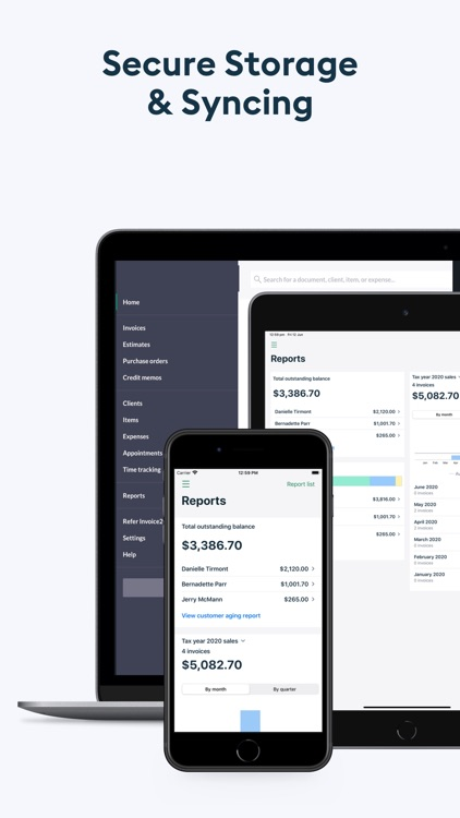 Easy Invoice Maker: Invoice2go screenshot-6