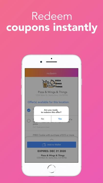 Buxbo - Redeem Coupons & Save! screenshot-7