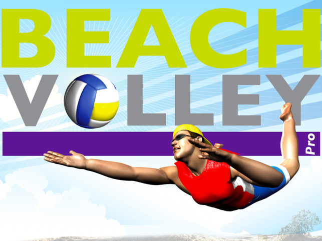 ‎Beach Volley Pro Lite Screenshot