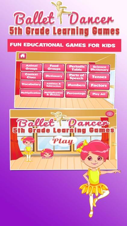 Ballerinas Grade 5 Kids Games screenshot-0