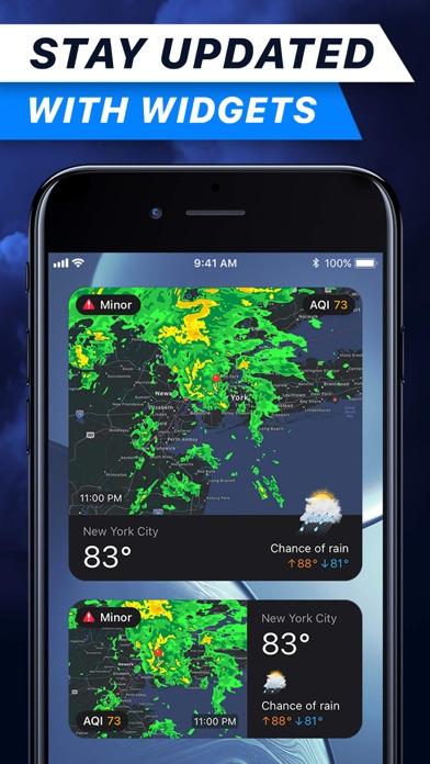 Weather Radar° Screenshot