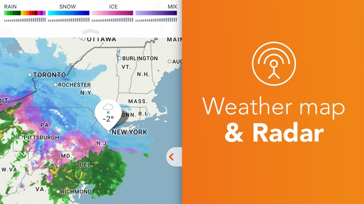Weather Radar: AccuWeather – (iOS Apps) — AppAgg