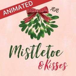 Animated Mistletoe & Kisses