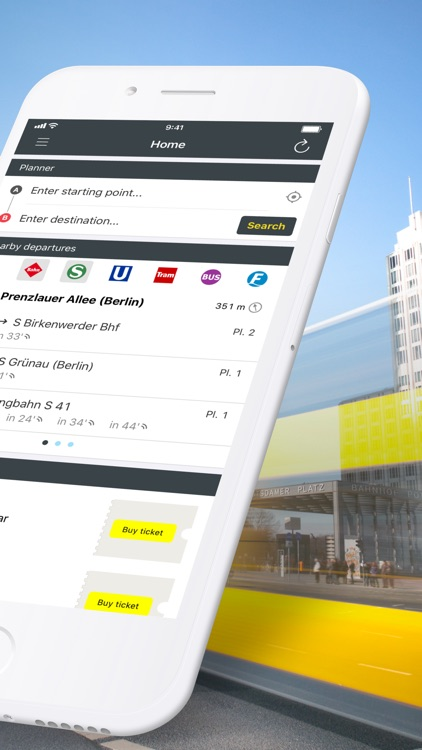 BVG Fahrinfo: Routes & Tickets