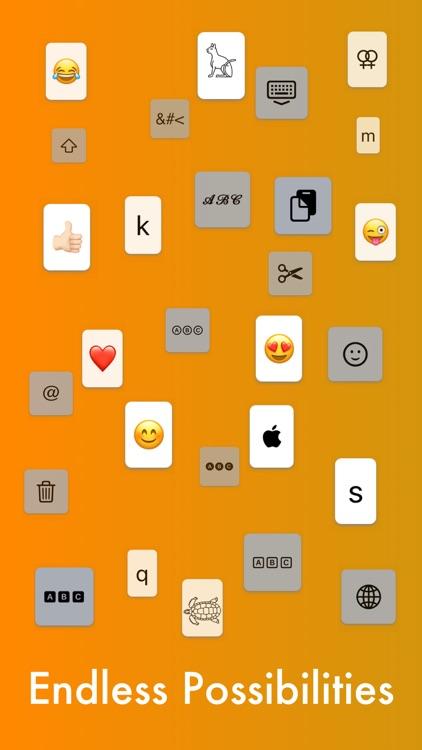 MyKeyboard: Emoji & Fonts screenshot-3