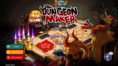 Dungeon Maker : Dark Lord screenshot for iPhone