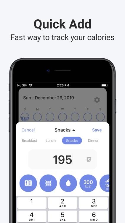 Calory: Simple Calorie Counter