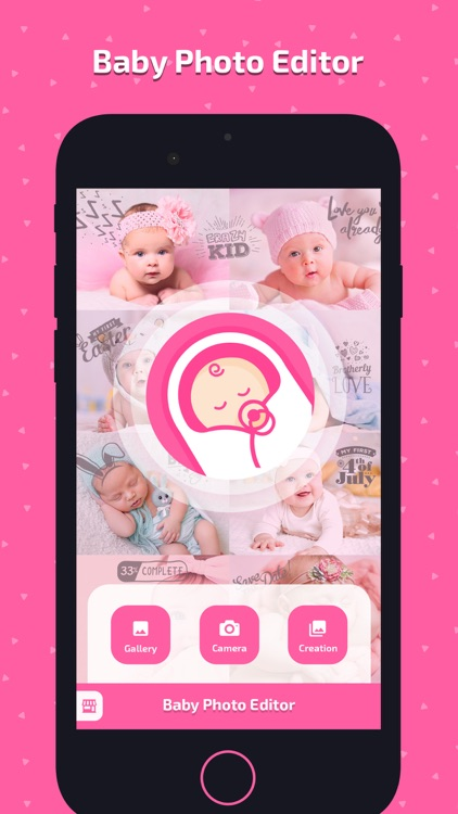 Baby Photo Art - Monthly Pics screenshot-0