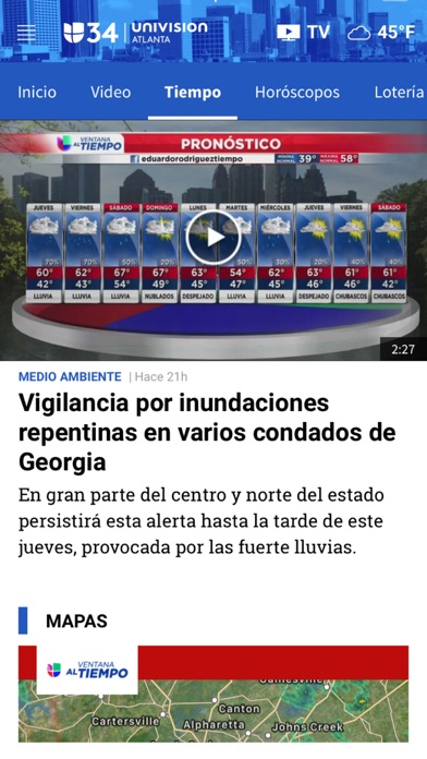 Univision 34 Atlanta screenshot 5