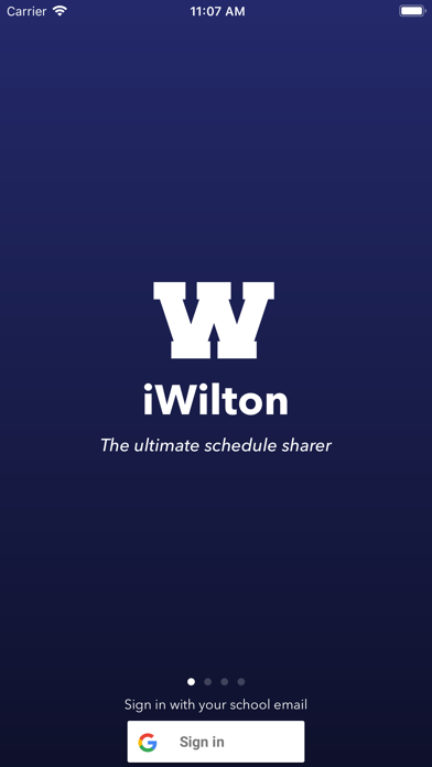 iWilton - Wilton High School screenshot 2