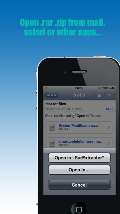 RarExtractor - Extract RAR,ZIP