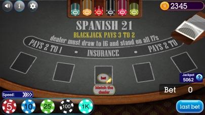 Screenshot for Spanish Blackjack 21 in Ukraine App Store