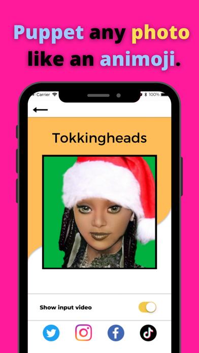 TokkingHeads: Portrait Video screenshot 2