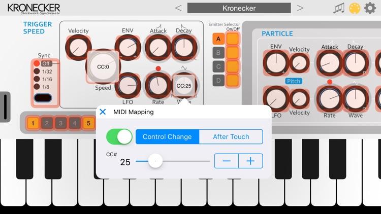 Kronecker - AUv3 Plugin Synth screenshot-4