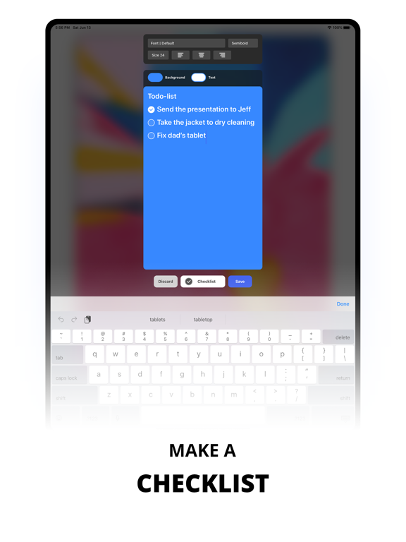 Sticky Notes Widget Screenshots