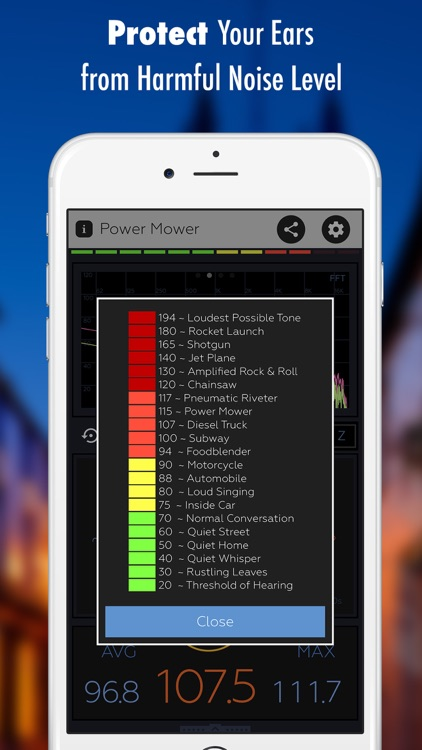Decibel X: dB, dBA Noise Meter screenshot-4