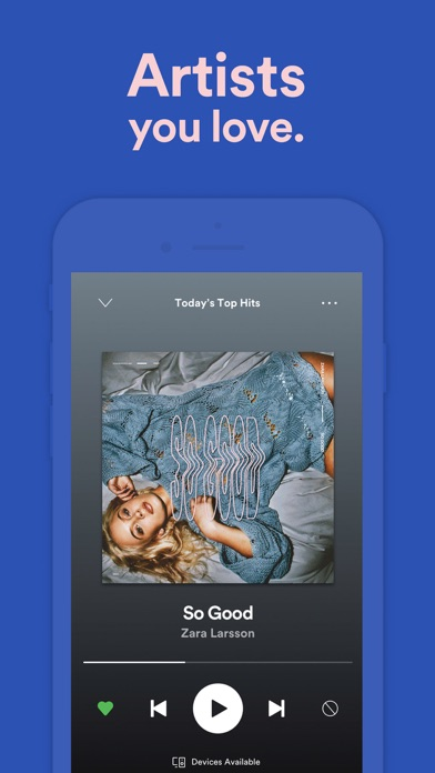 Spotify - Music and Podcasts app image