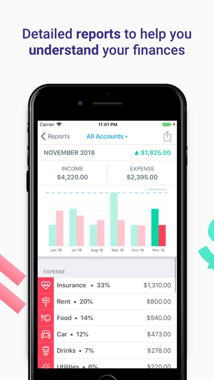 MoneyCoach - Budget & Expenses
