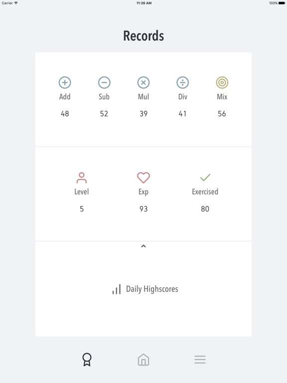 Ninimaths 暗算アプリのおすすめ画像4