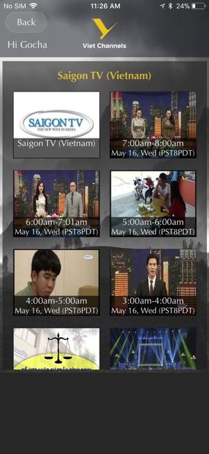 Saigon tv app