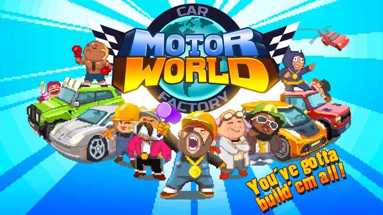 Motor World: Car Factory screenshot-5