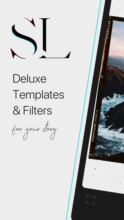 Storyluxe: Templates & Filters screenshot-0