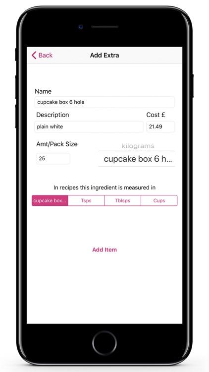 Cost A Cake Pro screenshot-3