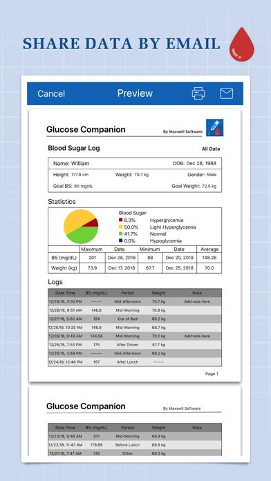 Glucose CompanionScreenshot of 5