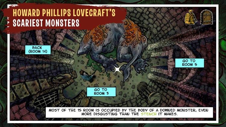 Lovecraft Quest - A Comix Game screenshot-8
