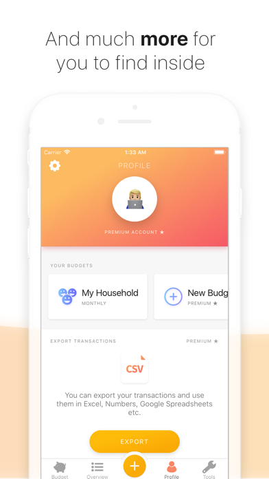 Buddy - Easy Budgeting Screenshot