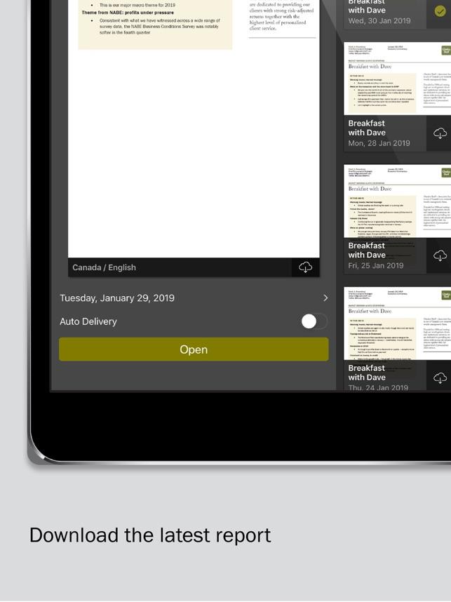 Gluskin Sheff Research on the App Store