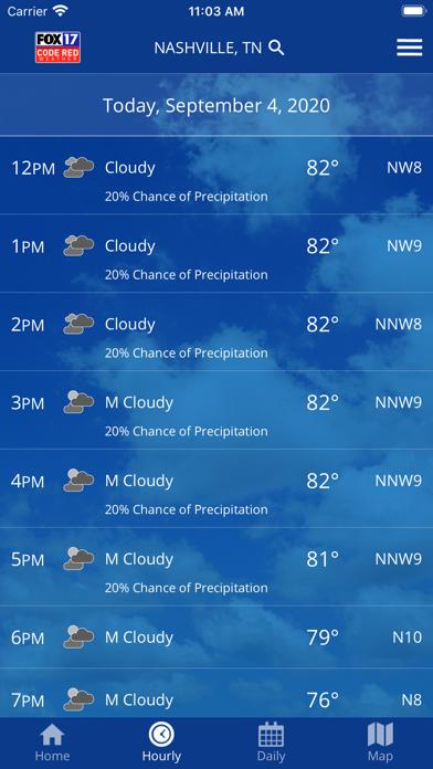 SKYWatch17 Weatherのおすすめ画像2