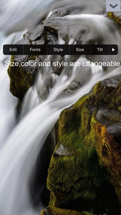 Add Texts On Photos (HD) screenshot-3