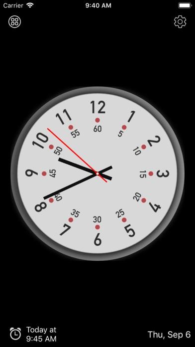 アナログ時計 - 時計ウィジェット,目覚まし時計のおすすめ画像2