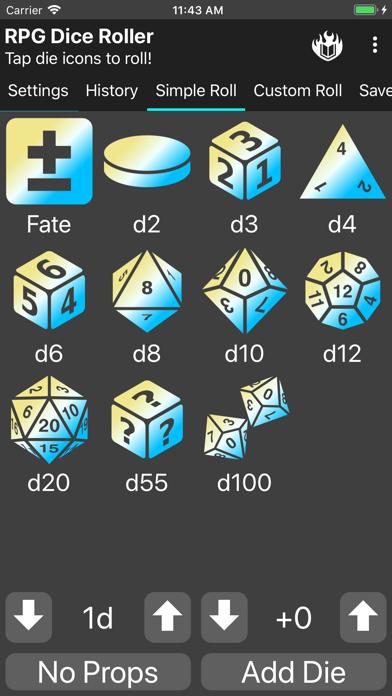 RPG Dice-Roller screenshot #6