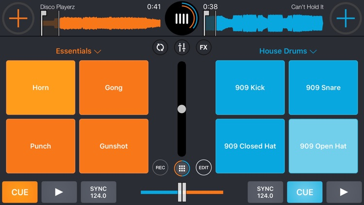 Cross DJ - dj mixer app screenshot-4