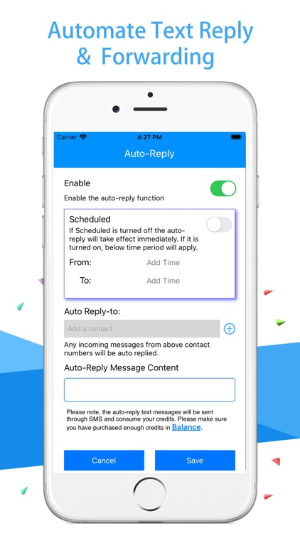 AutoSender Pro - Texting Robot screenshot-3