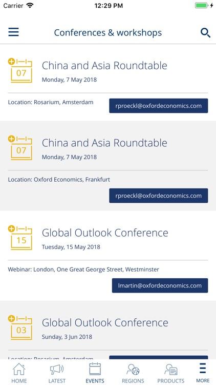 Oxford Economics App screenshot-3
