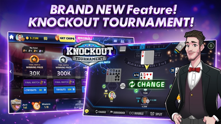 Blackjack 21 - HOB screenshot-6