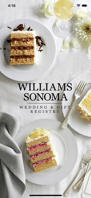 Williams Sonoma Wedding Registry.Williams Sonoma Gift Registry On The App Store