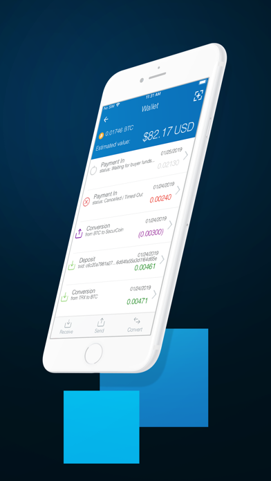 Screenshot of CoinPayments - Crypto Wallet3