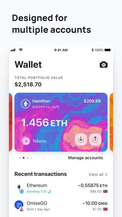MEW wallet: Ethereum and DeFi screenshot-5